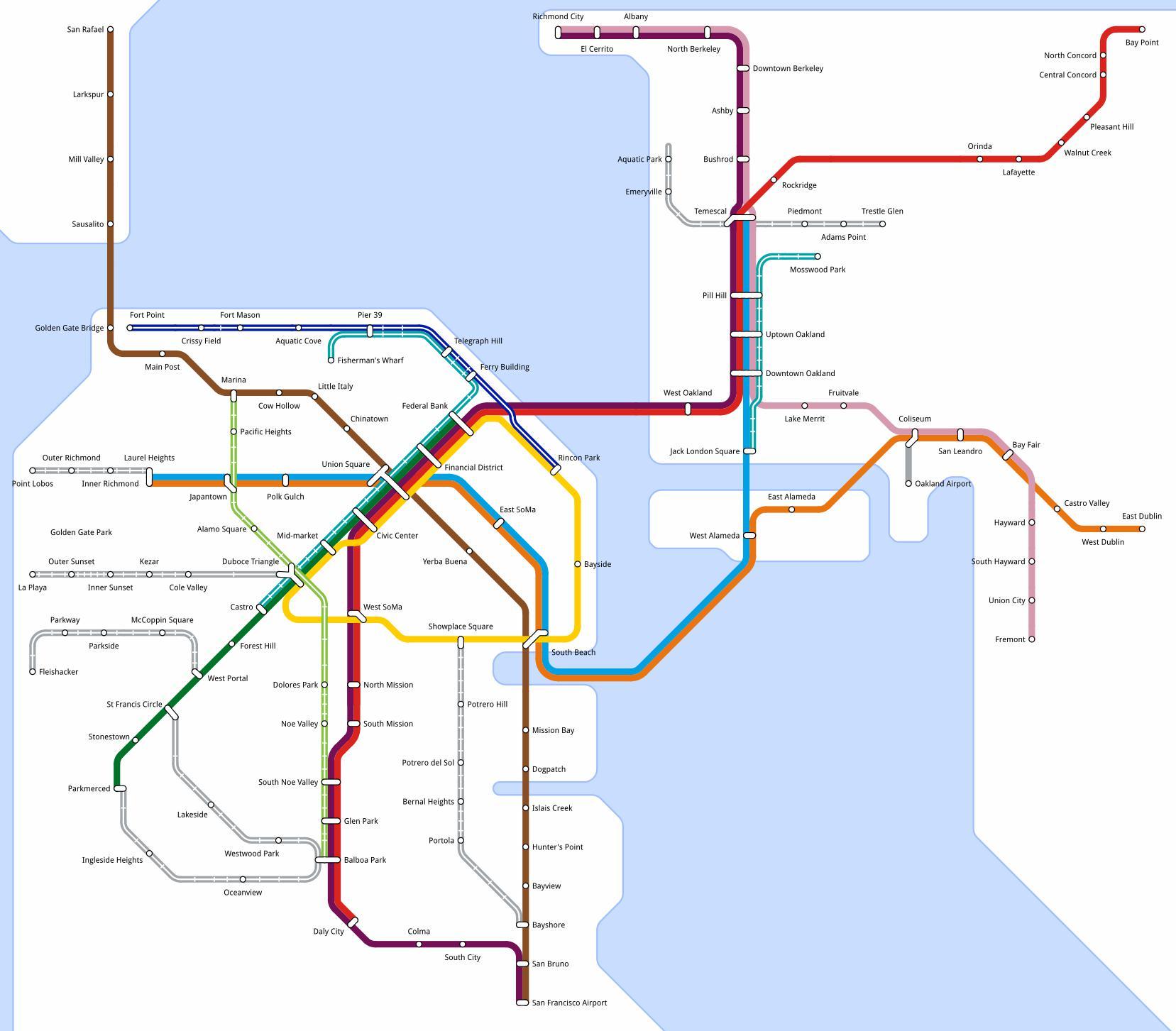 San Francisco Transit Martin Atkins